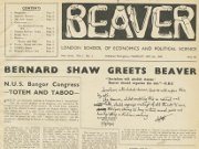 Beaver front page