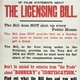 Beware of False Statements about the Licensing Bill