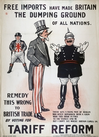 Political and Tariff Reform Posters image